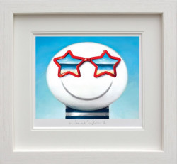 Sun Sea And Sunglasses II - White Framed