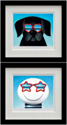 Sun Sea And Sunglasses - Set Black Framed