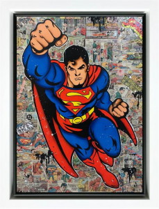 Superman - Original  - Framed