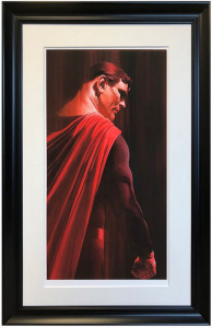Superman - Shadows Collection  - Framed