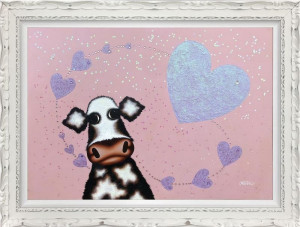 Surrounded By Love - Original - Framed