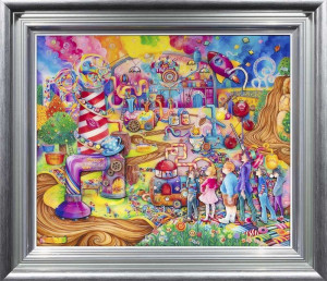 Sweets And Treats - Framed