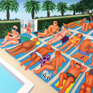 tenerife days - print only