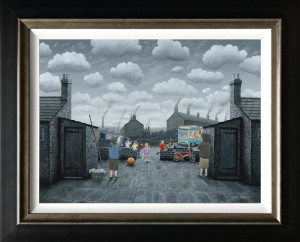 that's kept them quiet - canvas  - framed