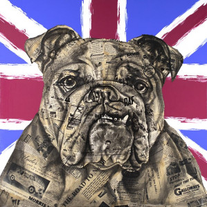 The British Bulldog - Mounted