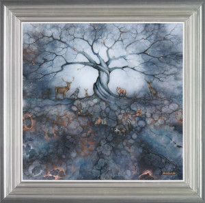 the call of the trees - framed