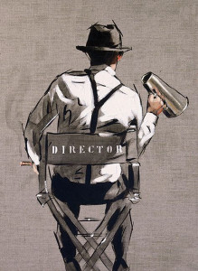 The Director - Sketch - Artist Proof - Mounted