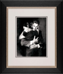 the embrace ii  - framed