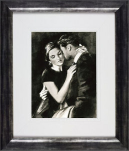 the embrace viii  - framed