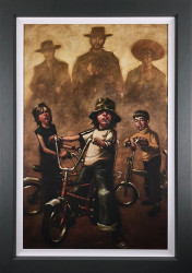 The Good The Bad & The Basin Cut - Canvas - Framed