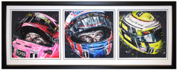 The Journey - Triptych - Framed