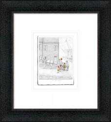 The Last Balloon - Sketch - Framed