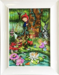 The Magic Garden  - Framed