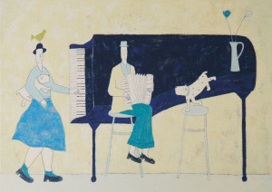 The Piano - Print only