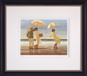 The Picnic Party (Small) - Framed