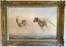 The Power And The Grace - Original - Ornate Framed