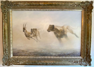 The Power And The Grace - Original - Framed