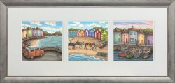 The Seaside Suite - Landscape Presentation - Framed