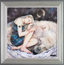 The Snow Queen - Silver Framed