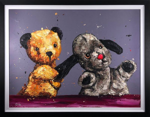 The Sooty Show - Canvas  - Framed