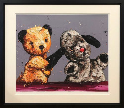 The Sooty Show - Black Framed