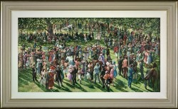The Winners Enclosure Ascot - Framed
