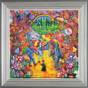 The Wizard Of Oz - Framed