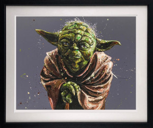 There Is Another Skywalker - Artist Proof Black - Framed