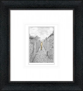 They Always Come Home - Sketch - Black-Grey - Framed