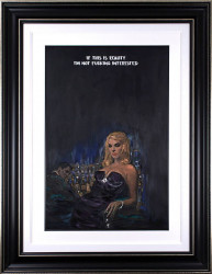 This Is Reality - Original - Black Framed