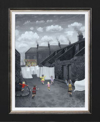 Through The Sheets To The Sweets - Canvas - Framed