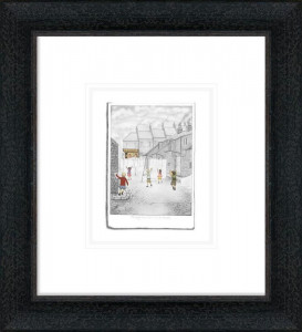 Through The Sheets To The Sweets - Sketch  - Framed