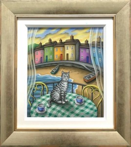 time for tea - original - framed