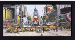 Times Square in Bloom - Framed