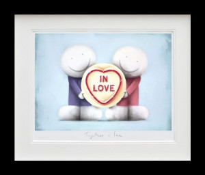 Together In Love - Black - Framed