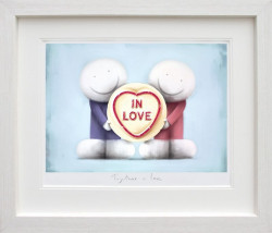 Together In Love - White Framed