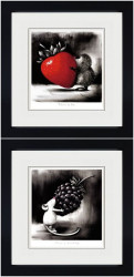 Token Of Love & Token Of Friendship (Set Of 2) - Black Framed