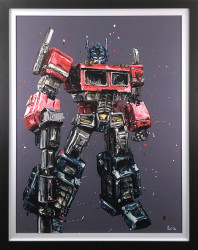 Transform & Roll Out - Canvas - Framed