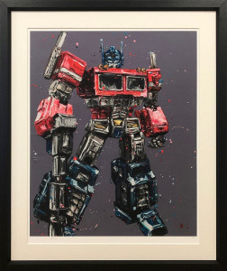Transform & Roll Out  - Framed
