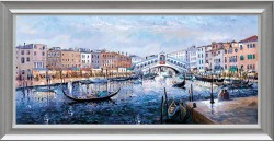 Twilight, Ponte Di Rialto - Framed