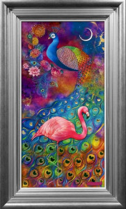 Twilight Symphony - Silver - Framed