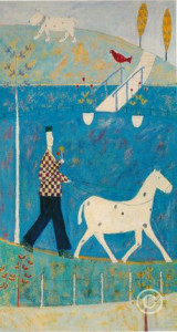 Walking The Horse - Print only