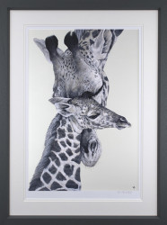 Watching Over You - Grey Framed