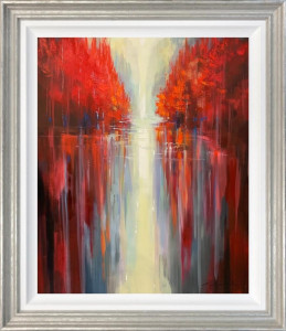 Water Reflections - Original - Silver - Framed