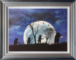 We Hates Weasels (Wind in the Willows Series) - Framed