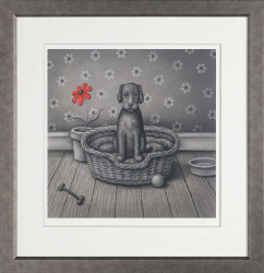 When I'm With You - Mottled Silver Framed