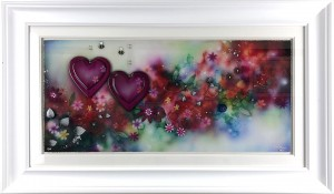 where love grows - framed