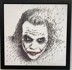 Why So Serious? - Black Framed - Framed Box Canvas
