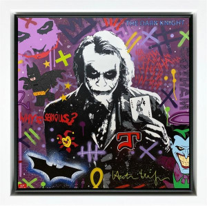 Why So Serious??? - Framed