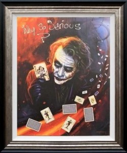Why So Serious  - Framed